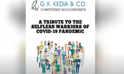 Tribute to HEROES of Coronavirus Pandemic by Team G K Kedia & Co.| Motivational & Inspirational Song