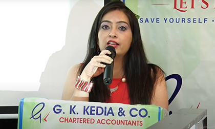 Funny Job Interview Skit of Titu & HR Manager by Team G K Kedia & Co. on 28th Foundation Day of GKK