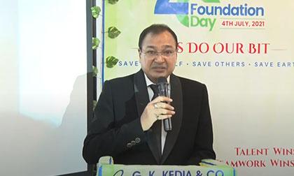 Glimpse of G K Kedia & Co 28th Foundation Day (Lighting of Lamp/Puja, GKK Awards, Culture Programme)